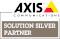 Logo Axis Solution Silver Partner