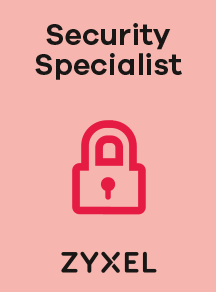 Image certification ZYXEL Security Specialist